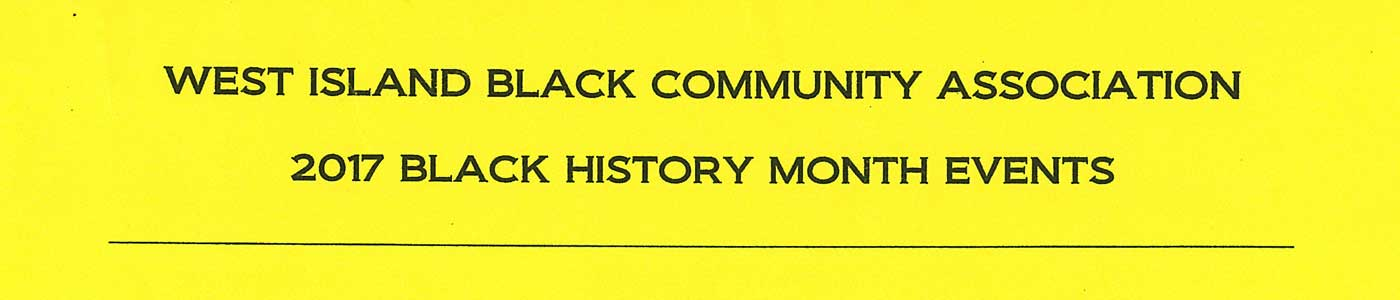 West Island Black History Community Association