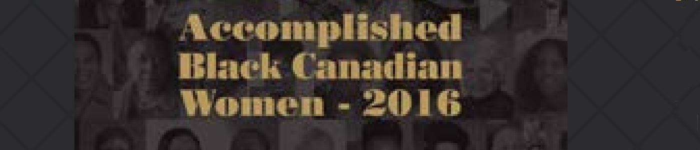 Accomplished Black Canadian Women