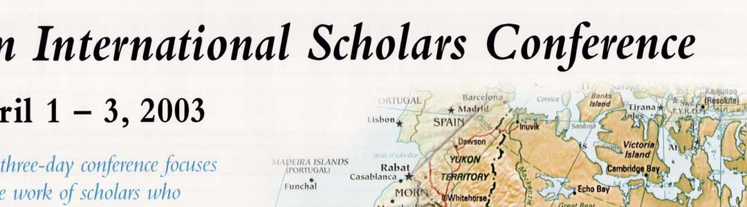 An International Scholars Conference